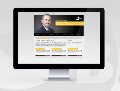 Webdesign Referenz eB2B
