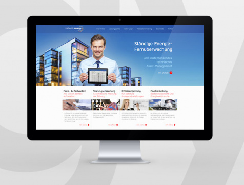 Webdesign Hamburg - Network Energy