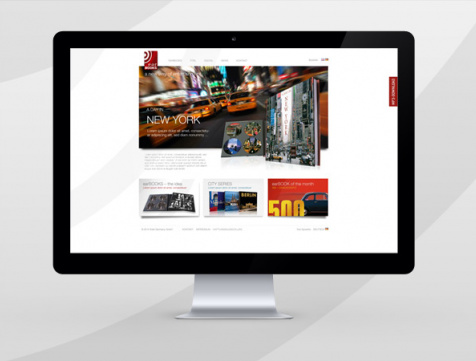 Webdesign Hamburg - Edel earBOOKS